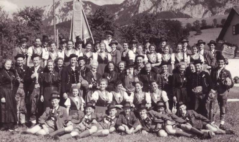 Trachtenfest in Steinbach 1952